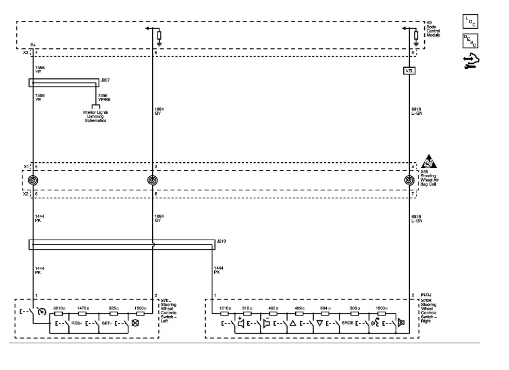 Steering Wheel Audio Control Diagram Camaro5 Chevy Camaro Forum 2010 Interior Wiring Schematic Attached Images
