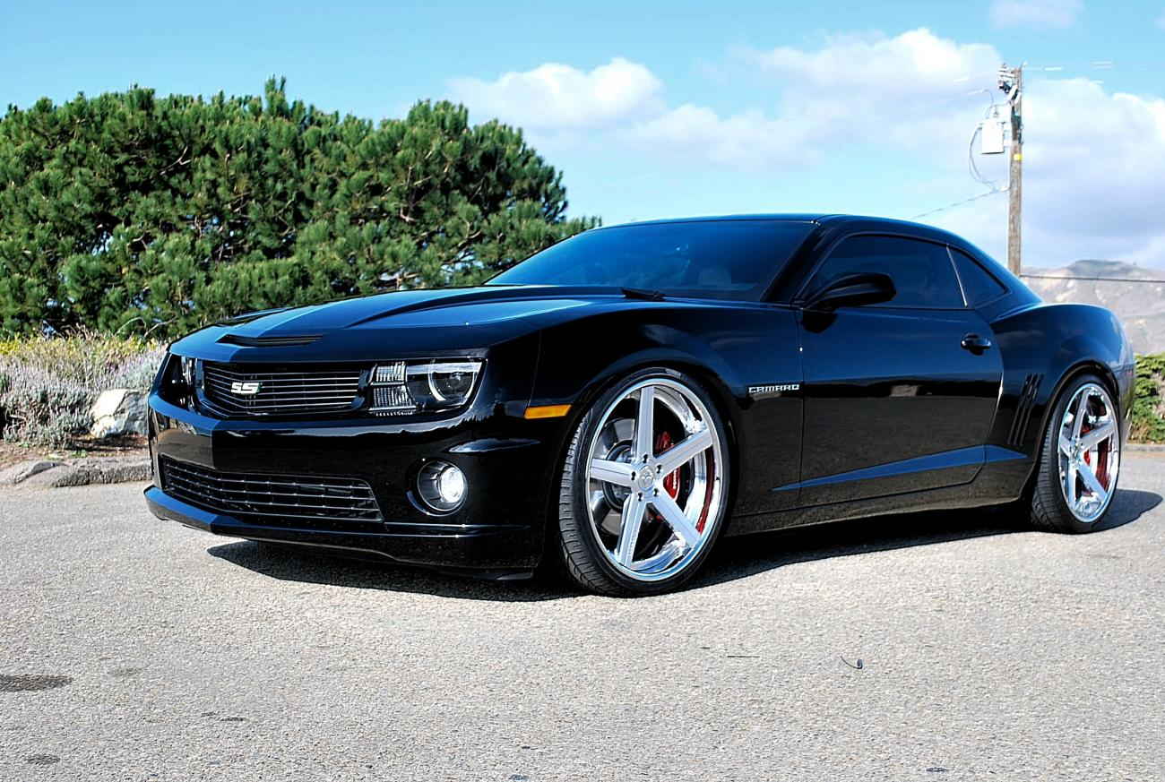 Req Pic Of Ss On 22s Lowered With No Body Kit Camaro5