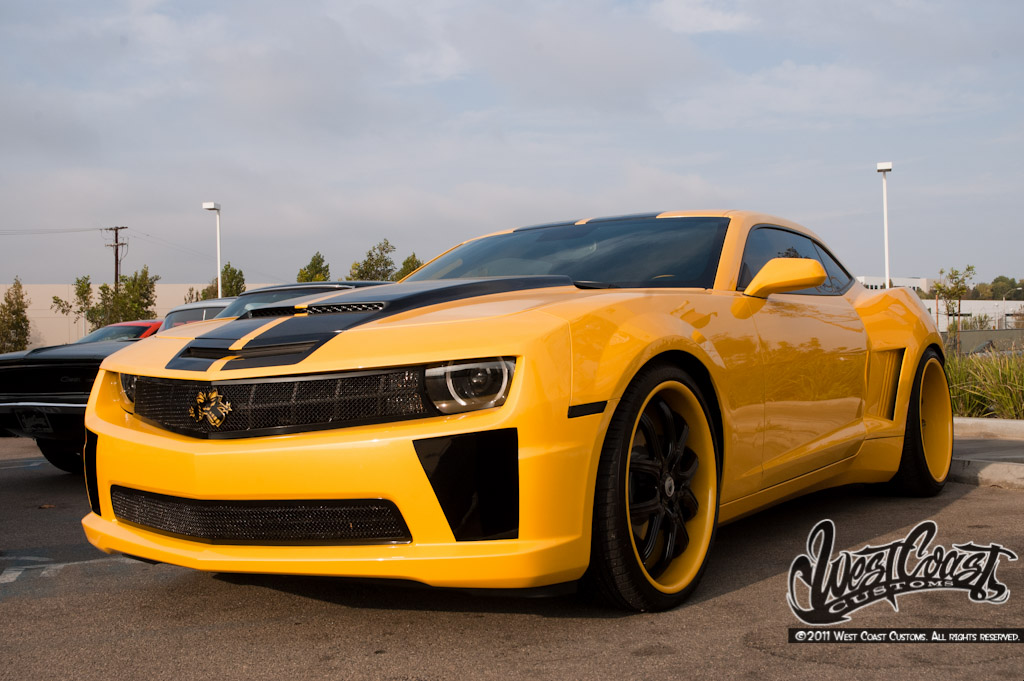 West Coast Customs Bumblebee Camaro Camaro5 Chevy Camaro