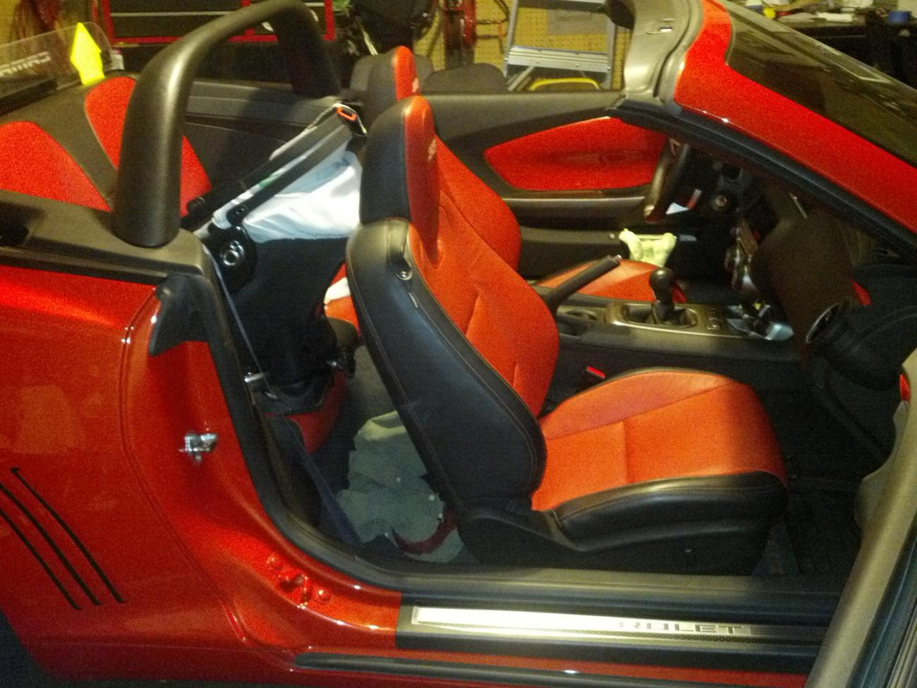 Child Seat In A Convertible