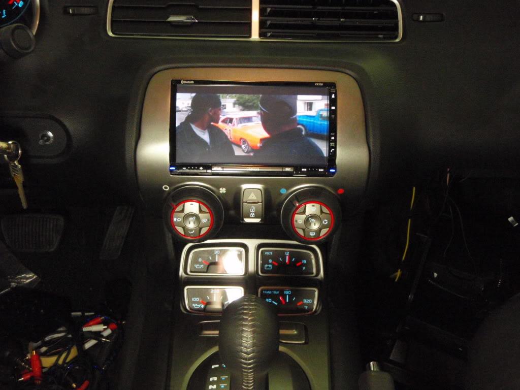 Custom Touch Screen Install Camaro5 Chevy Camaro Forum