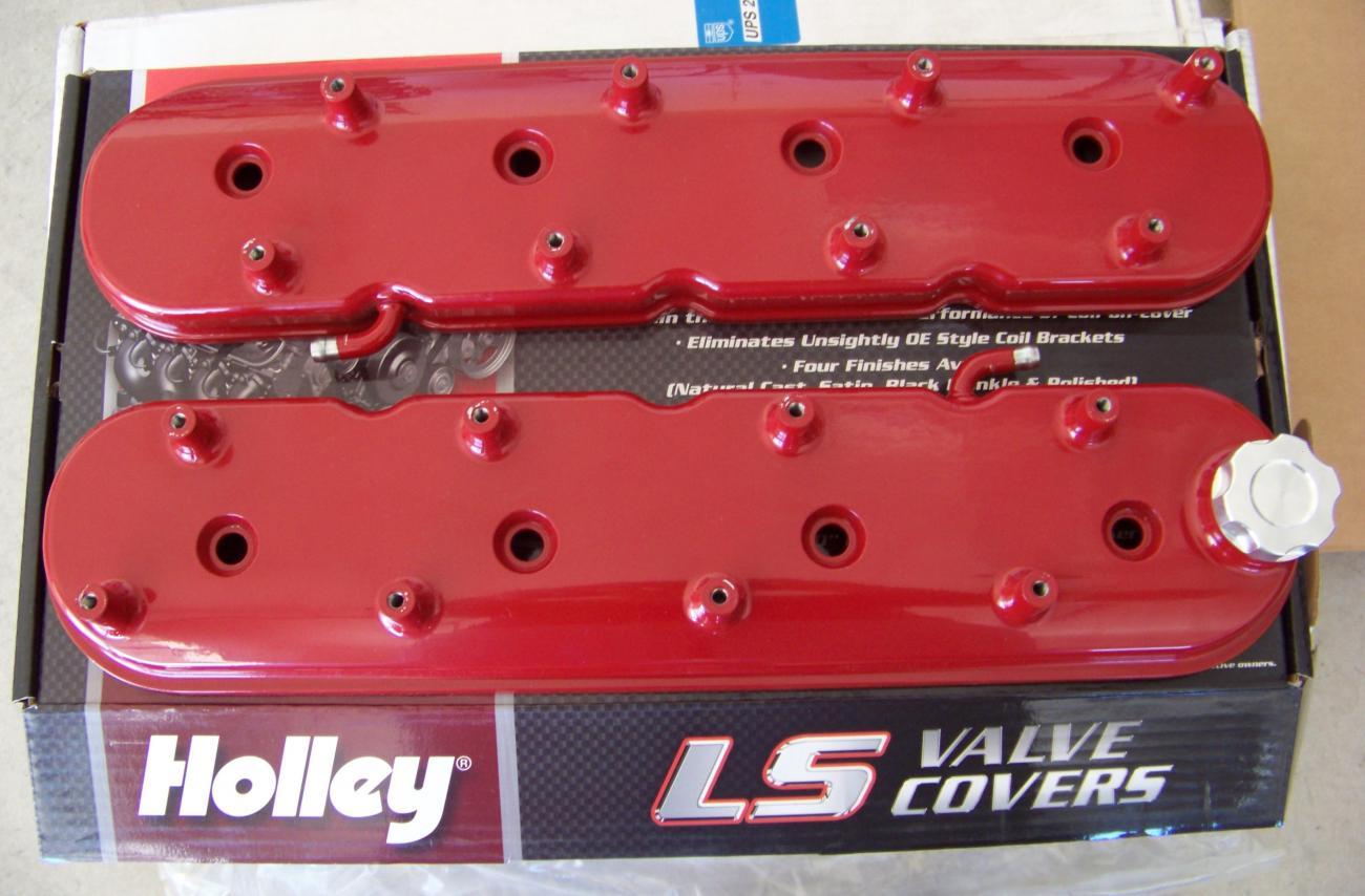Holley LS Valve Covers - Camaro5 Chevy Camaro Forum / Camaro