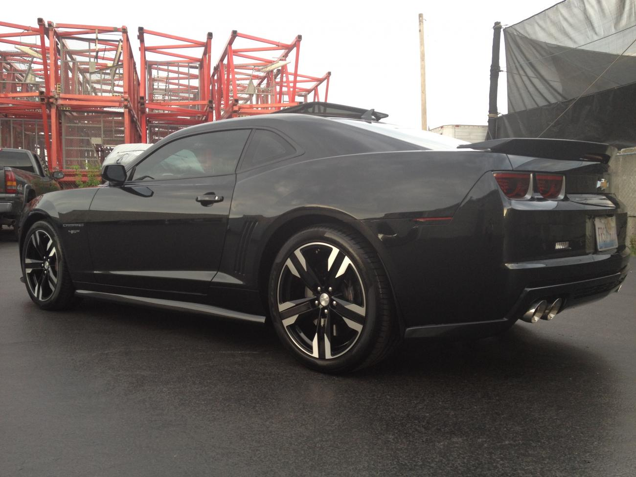 Zl1 Replica 22 Wheels And Tires Package Autos Post