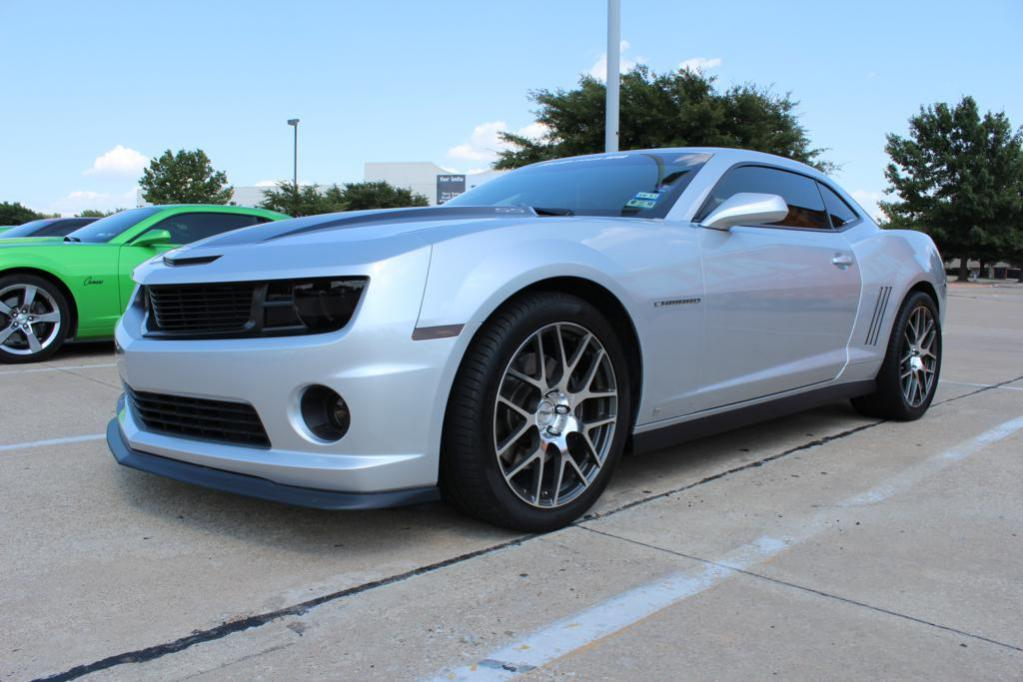 2010 Ss With Zl1 Rockers And Slp Splitter Camaro5 Chevy