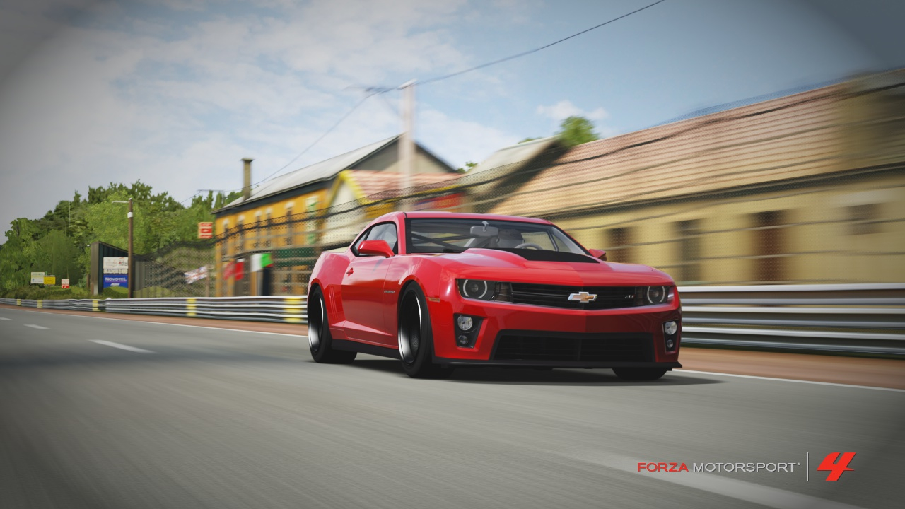Quick Review Of The Zl1 In Forza 4 Tune Setup Camaro5