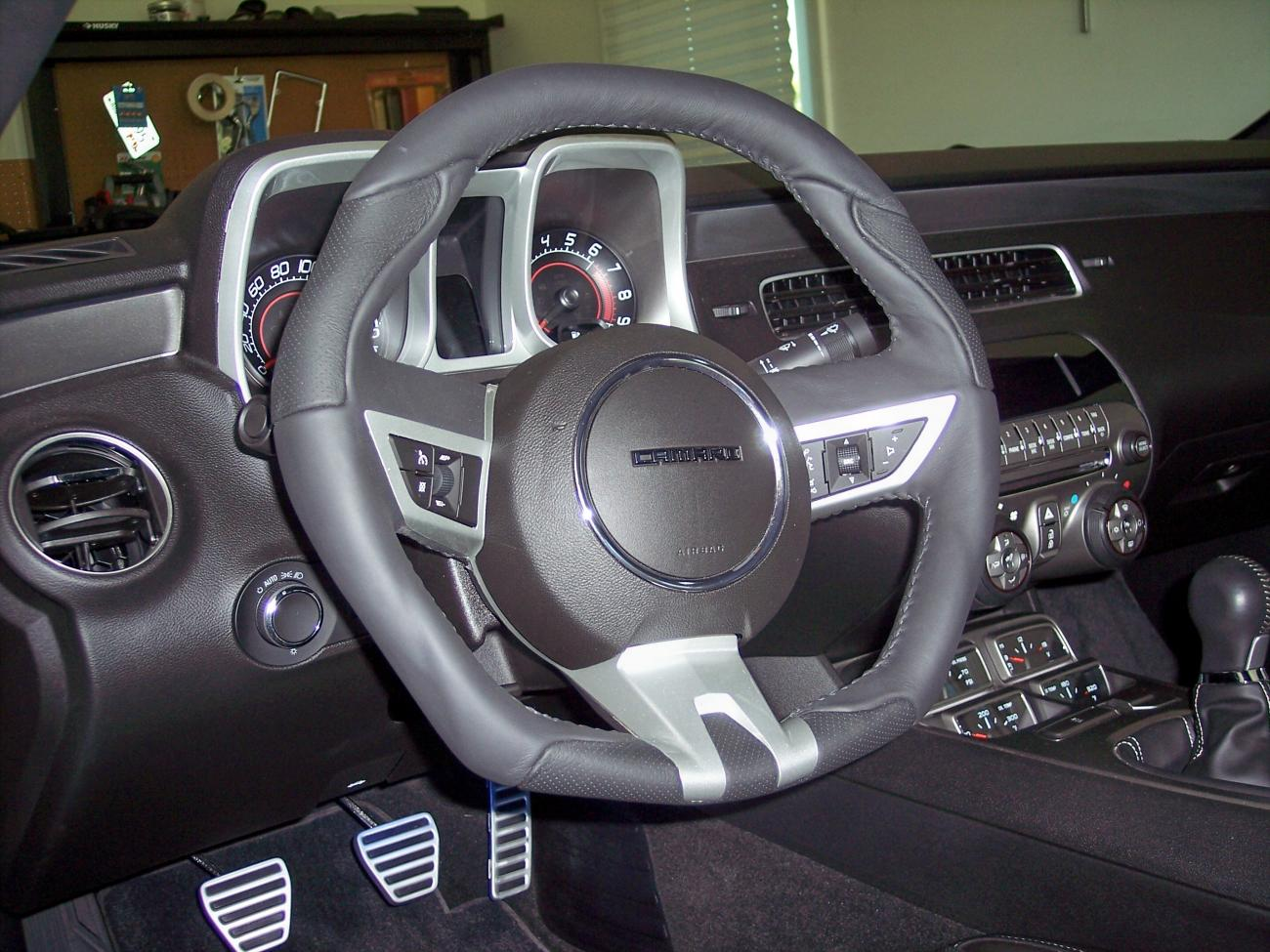 Grant Steering Wheel Installed Camaro5 Chevy Camaro