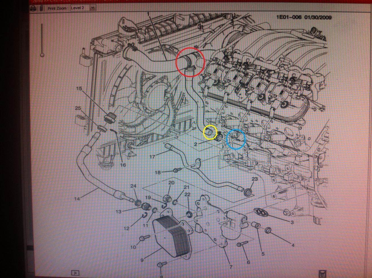 Anyone done a oil cooler delete on L99? - Camaro5 Chevy Camaro Forum /  Camaro ZL1, SS and V6 Forums - Camaro5.com | Chevrolet L99 Engine Diagram |  | Camaro5.com