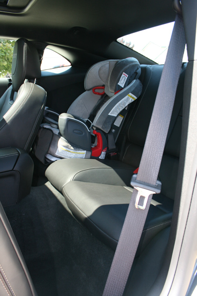 Baby Seat In The New Camaro