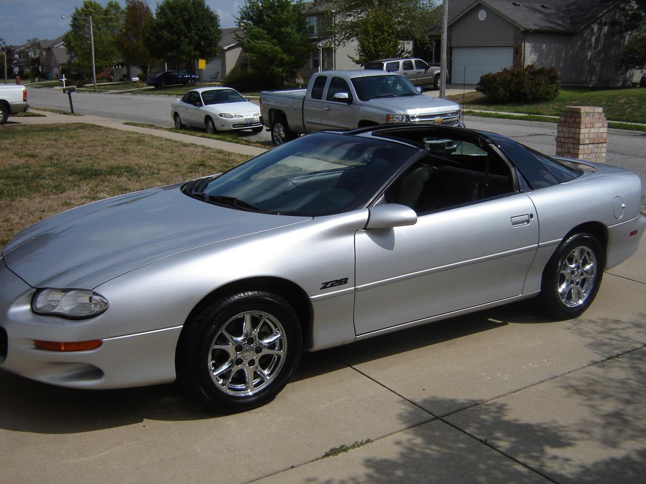 For Sale 2002 Z28 Silver Black 6spd 46k Miles
