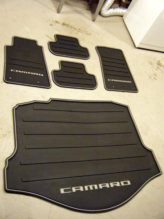2016 Camaro Ss Rubber Floor Mats - Carpet Vidalondon