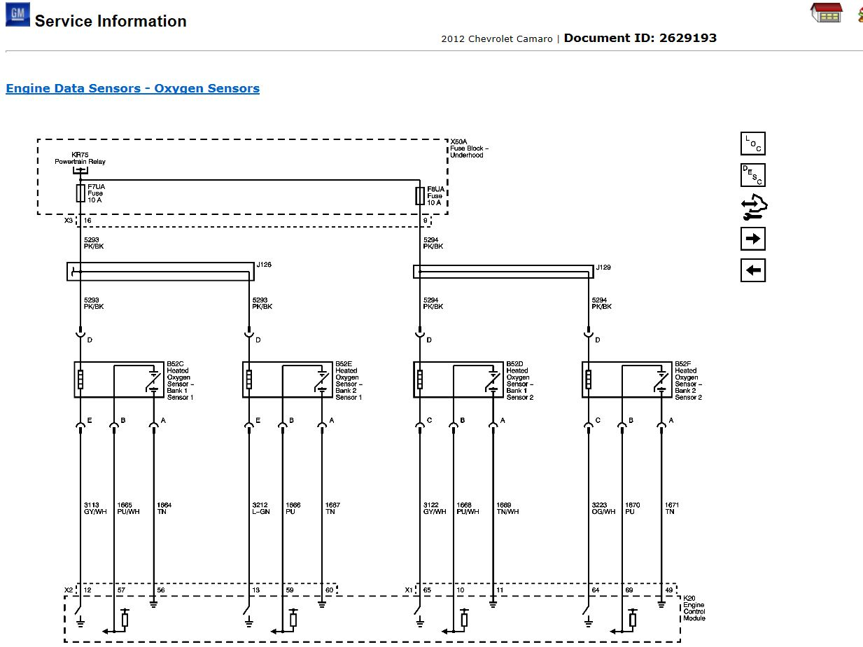 wiring diagram o2 sensor bank 1 sensor 1 camaro5 chevy here s a wiring diagram attached images