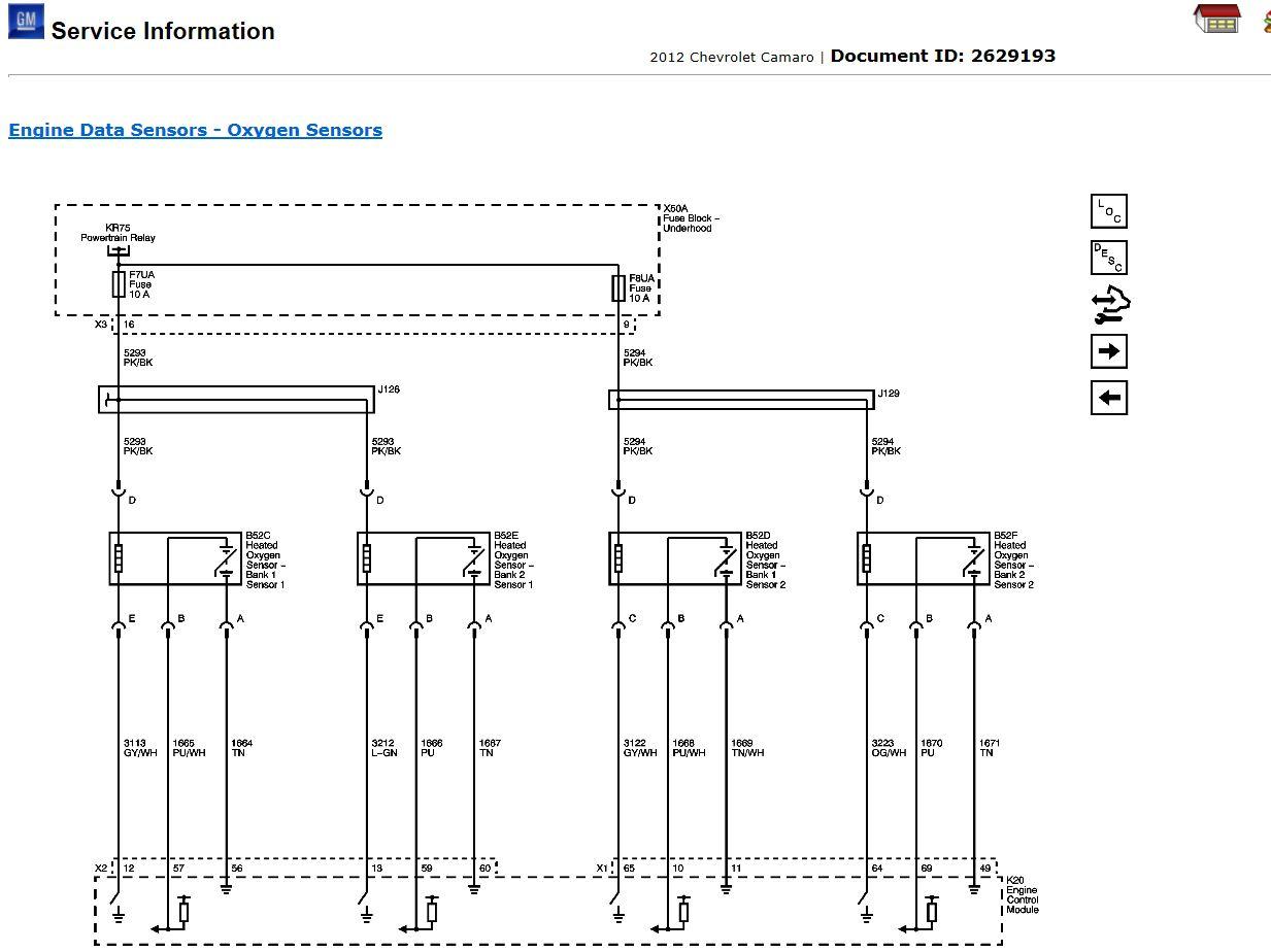 81 Chevy Camaro Wiring Diagram Library Harness O2 Sensor Bank 1 Camaro5 Forum Zl1 Ss And