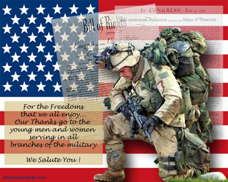 To All My Fellow Brothers Sisters In Arms Thank You For