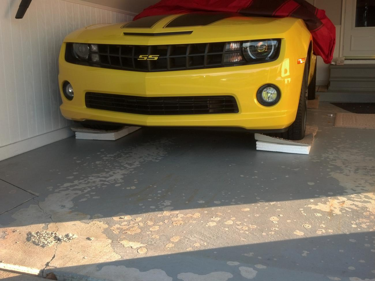 winter storage possible fix to flat spots on tires camaro5 chevy camaro forum camaro zl1. Black Bedroom Furniture Sets. Home Design Ideas