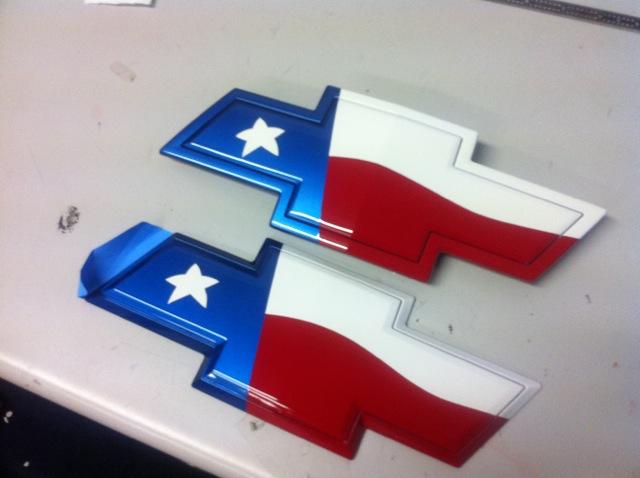 Custom Painted Texas Flag Bowties Page 3 Camaro5 Chevy Camaro