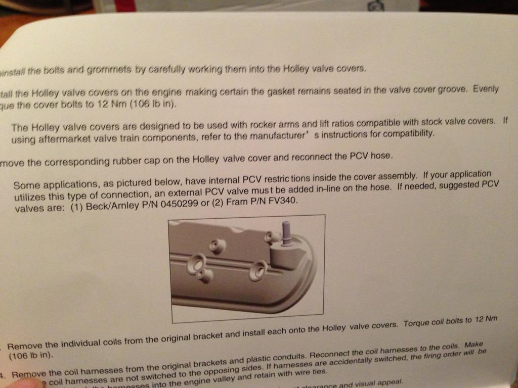 Valve cover install question - Camaro5 Chevy Camaro Forum