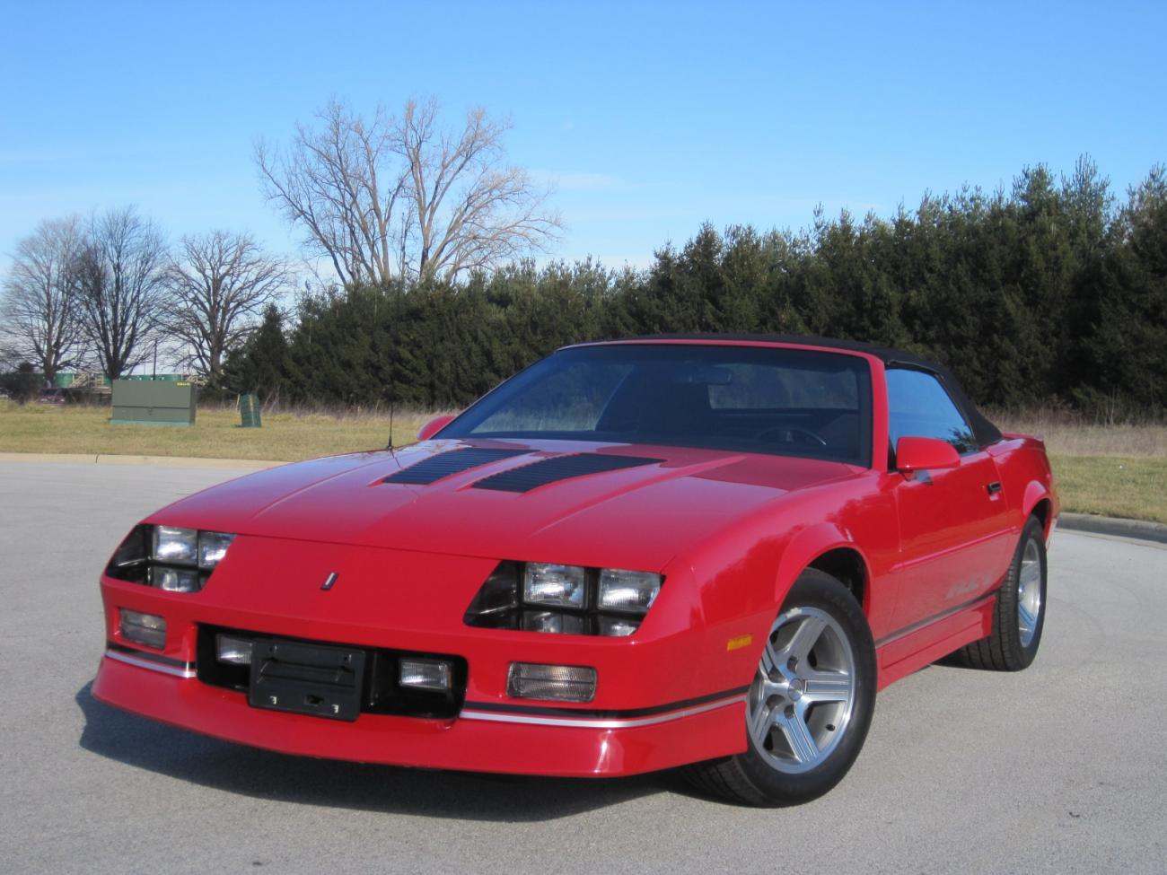 For Sale 1990 Iroc Z Convertible 13k Miles Camaro5 Chevy Camaro Forum Camaro Zl1 Ss And V6