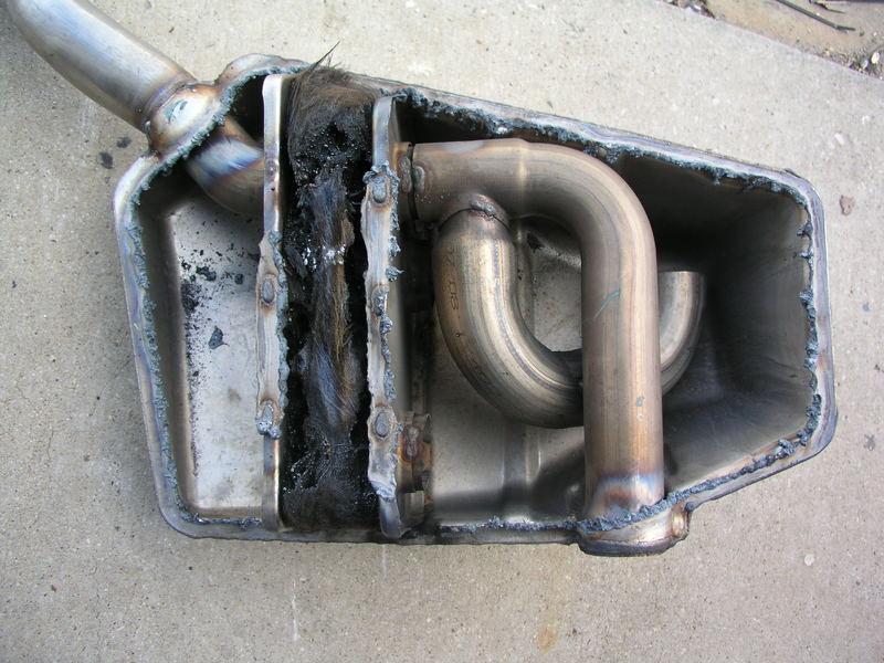 Llt L99 Amp Ls3 Muffler Cutaway Pics Camaro5 Chevy Camaro
