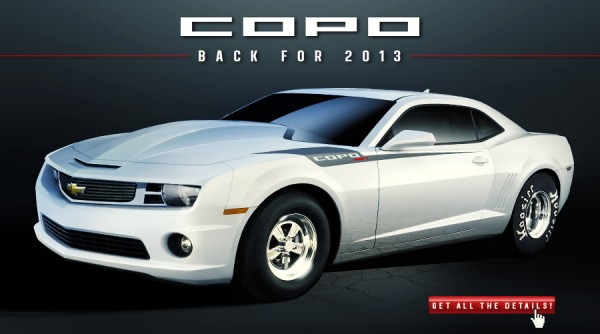 Chevrolet Set To Start 2013 Copo Customer Selection Process