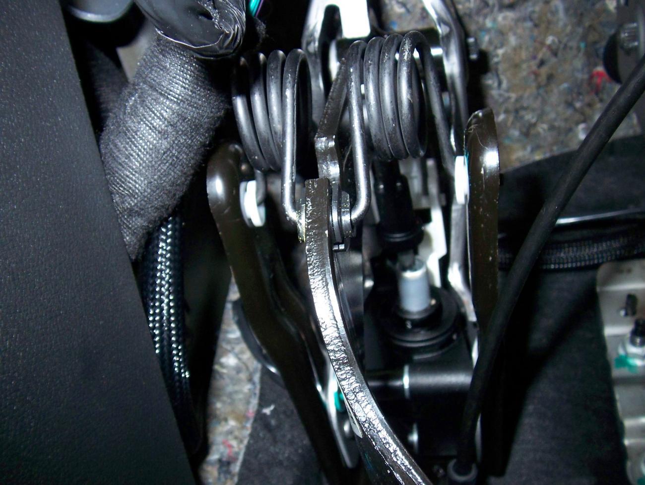 Clutch Pedal Squeaky Noise Camaro5 Chevy Camaro Forum