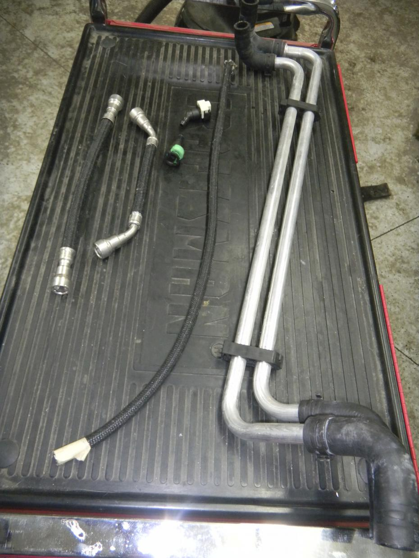 Fs Techafx Heater Hose Relocation Kit Camaro5 Chevy