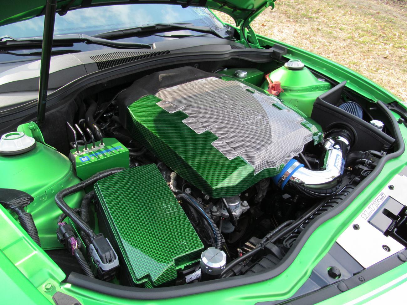 Zl1 Ss Lt V8 V6 Engine Bay Upgrades Hydro Dip Camaro5 Chevy