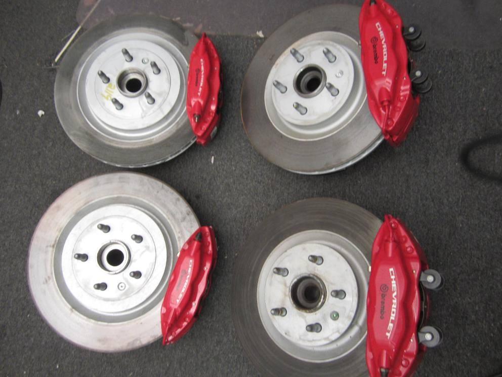 Vermilion Chevrolet >> 1LE BRAKES, / Rotors / Spindles / brake pads complete FS ...