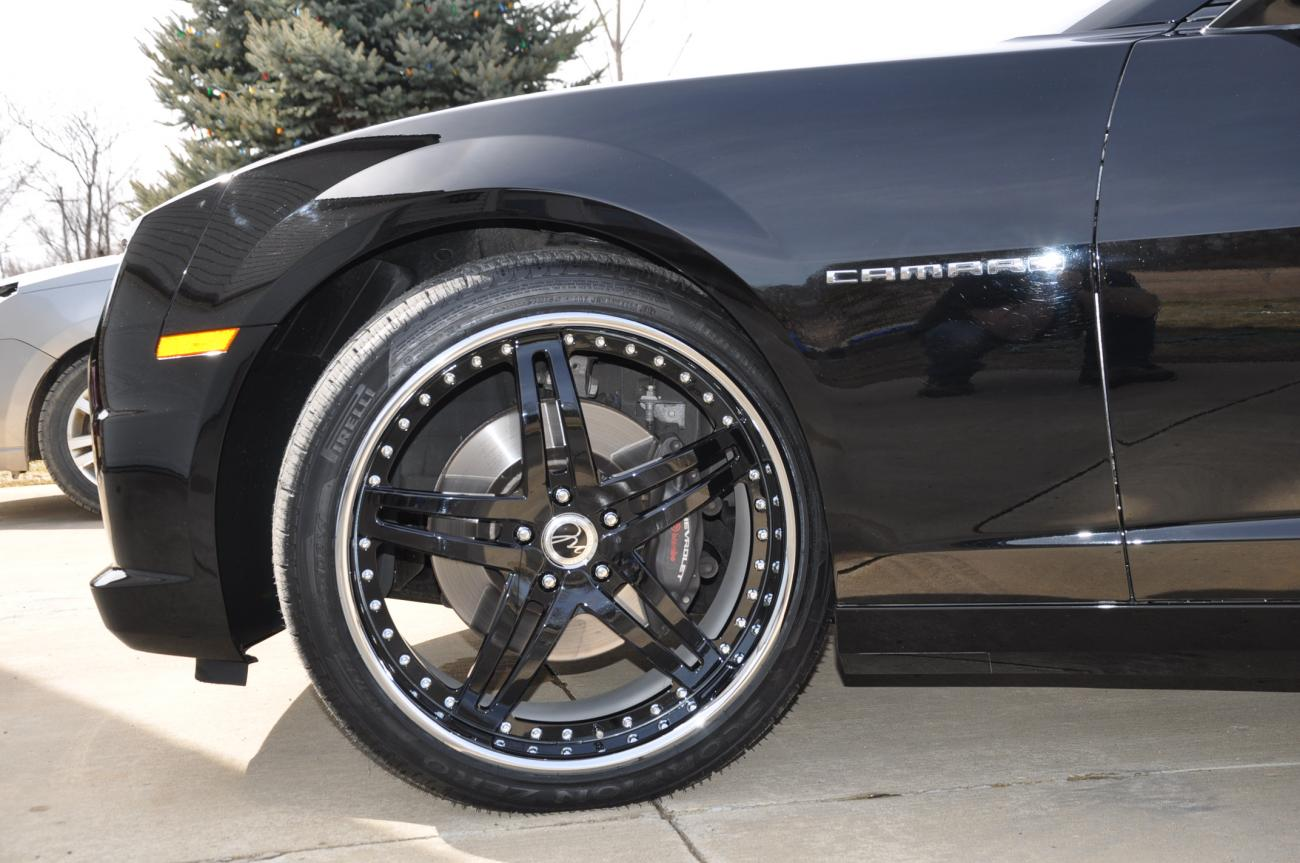 Problems With 265 35 22 On Fronts Camaro5 Chevy Camaro