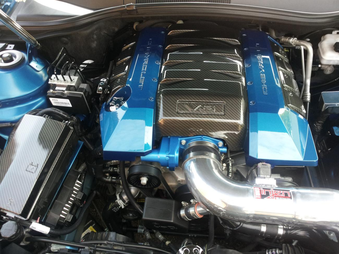 Hydro Dip Sale V8 V6 Engine Covers And Billet Pieces