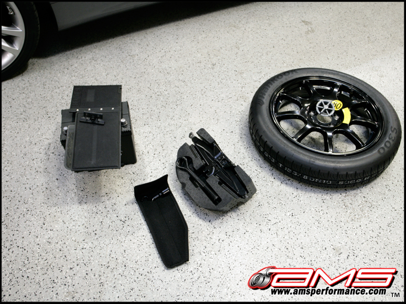 Attachment on Camaro Ss Spare Tire Kit