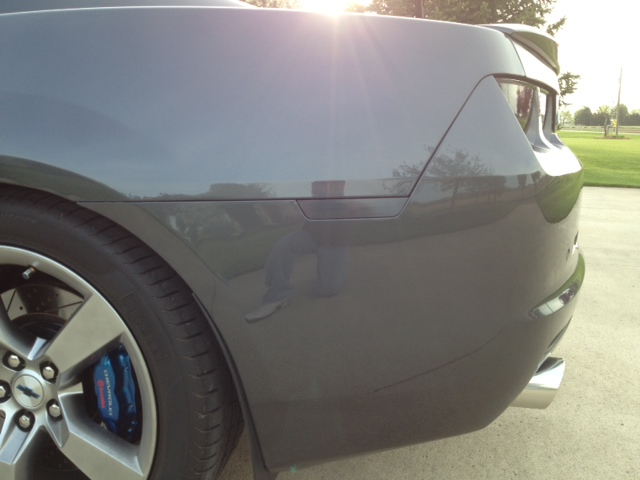 2016 Camaro Ghosted Side Markers