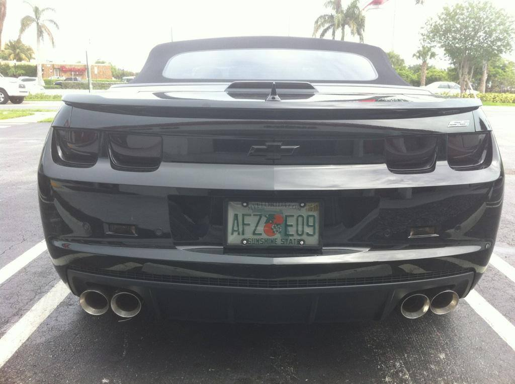 NPP diffuser and quad tips on my 2011 Camaro5 Chevy