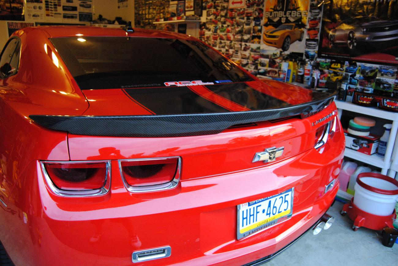 After Over A Year In The Making My Zl1 Carbon Fiber Spoiler Is Here Camaro5 Chevy Camaro