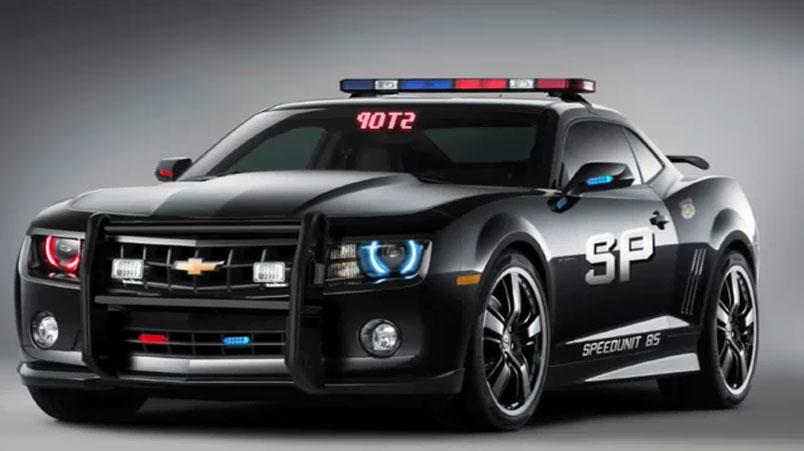 2010 Chevrolet Camaro SS Police Car - Camaro5 Chevy Camaro ...