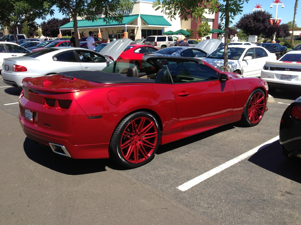 22 Inch Wheels Pics Tire Sizes Lowering Springs Forum