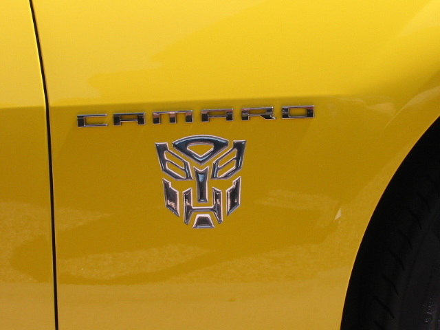 Autobot And Custom Emblems For Camaro Camaro5 Chevy