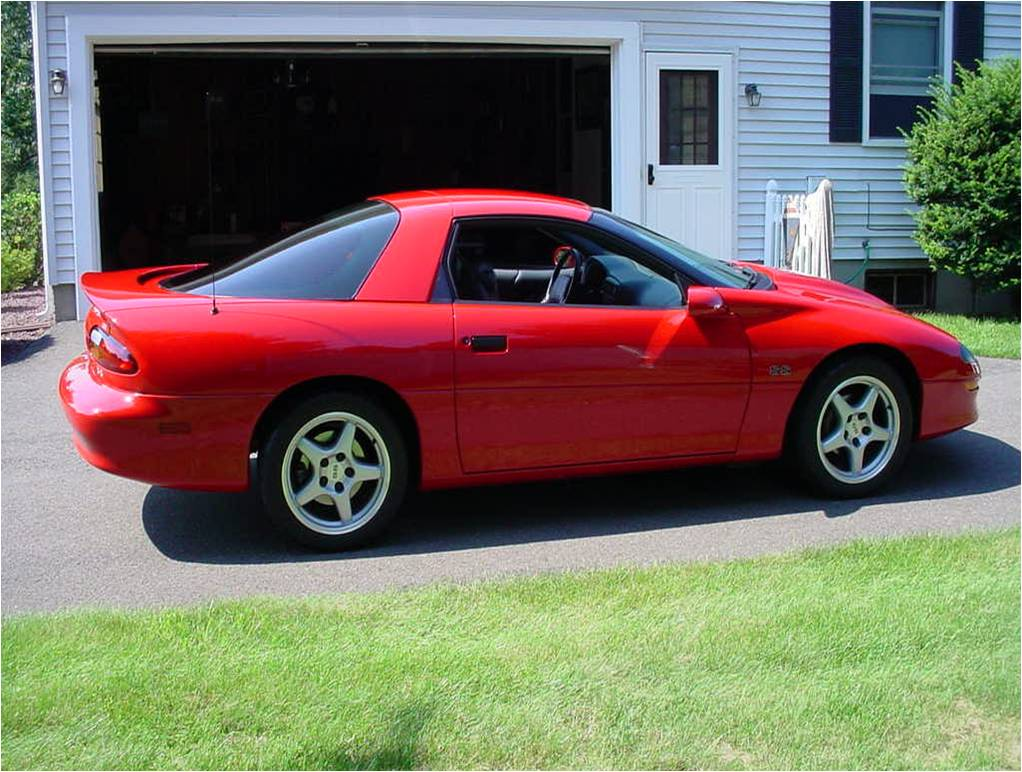 Camaro 1997 chevrolet camaro coupe : For Sale: 1997 Chevrolet Camaro SS SLP - Red hardtop, 24K miles ...