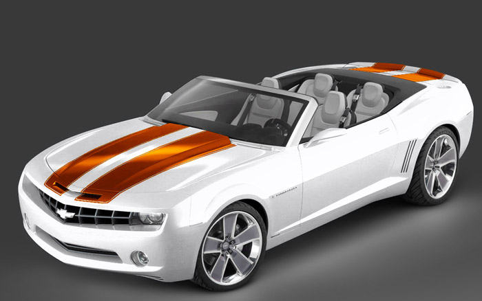 Car as long as it is in that color scheme but with orange interior