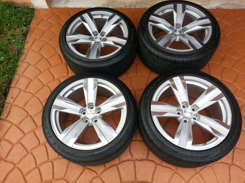 2013 Zl1 Wheels For Sale Bright 5 Spoke Forged Aluminum