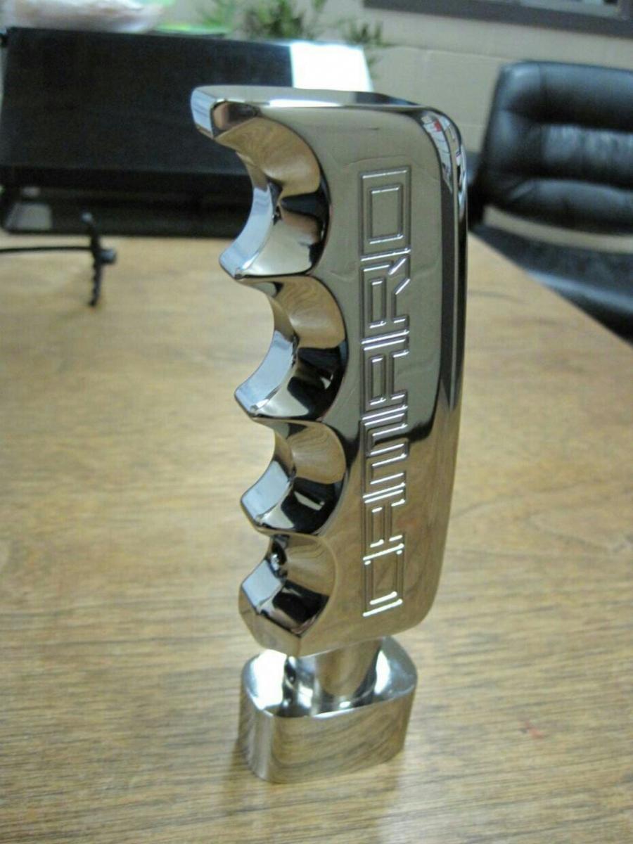 Defenderworx Chrome Pistol Grip Shift Knob Camaro5 Chevy