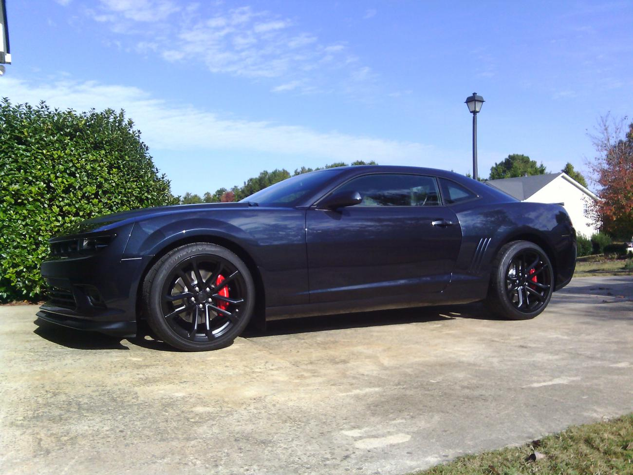 Official Blue Ray Metallic Gxh Camaro Thread Page 11