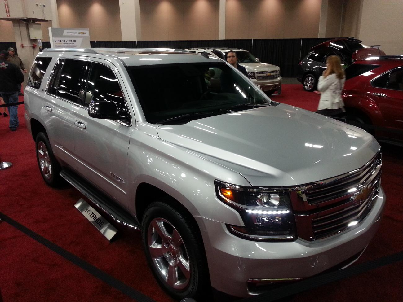 2015 Chevy Tahoe Z71 Lifted