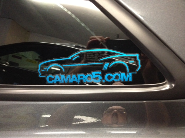 Check Out My New Stickers Camaro5 Chevy Camaro Forum