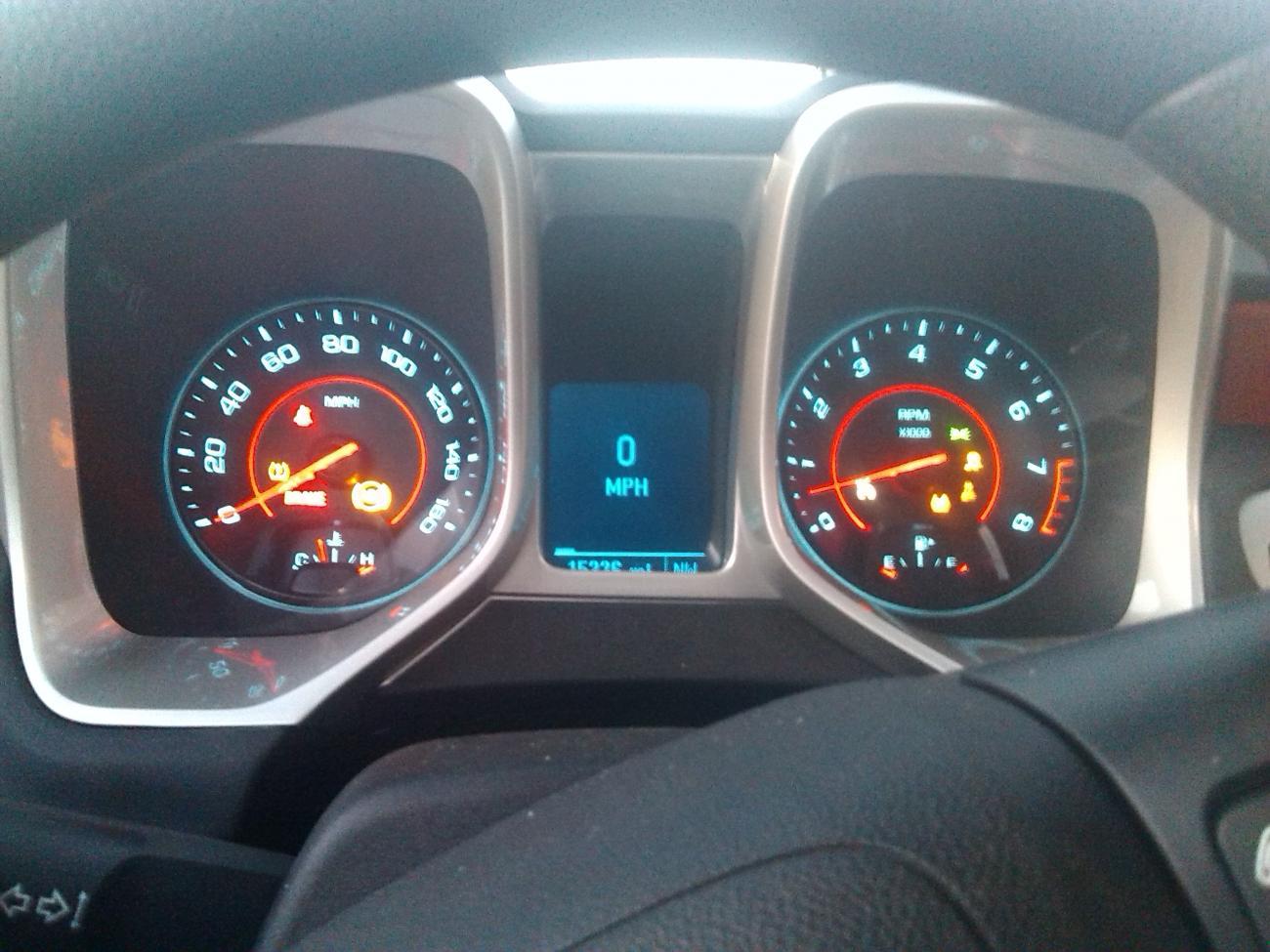 Every Light But Check Engine Light Is On Dash Camaro5