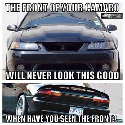 Funny antiMustang or antiFord Memes  Camaro5 Chevy Camaro Forum