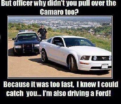 Funny Anti Mustang Or Anti Ford Memes Camaro5 Chevy Camaro Forum
