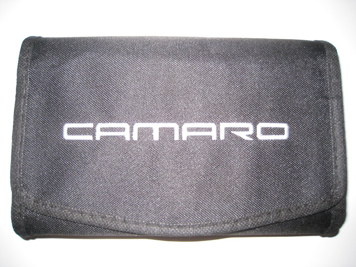 camaro owners manual pouch