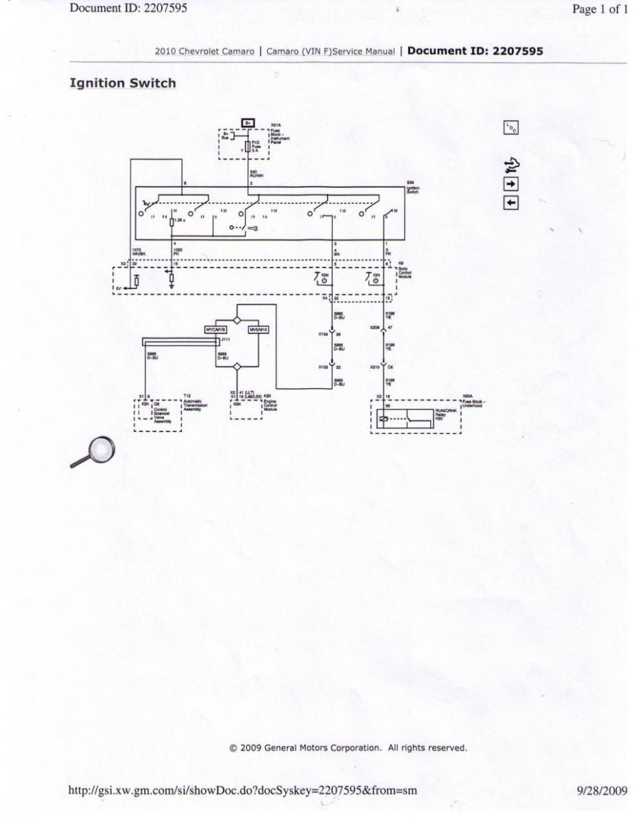 Ignition switch wiring need help. - Camaro5 Chevy Camaro Forum / Camaro  ZL1, SS and V6 Forums - Camaro5.com Camaro5.com
