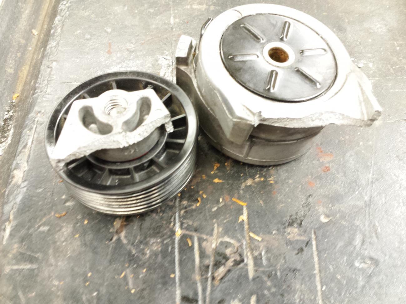 Broken Belt Tensioner Again E Force Supercharger Camaro5