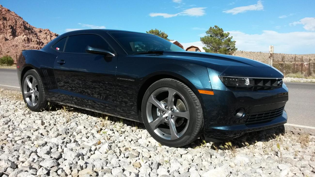 2014 chevrolet camaro ss blue ray metallic in blanchard. Black Bedroom Furniture Sets. Home Design Ideas
